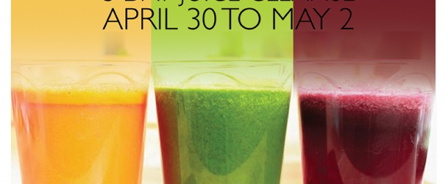 Fresh Start Juice and Yoga Cleanse April 30-May 2