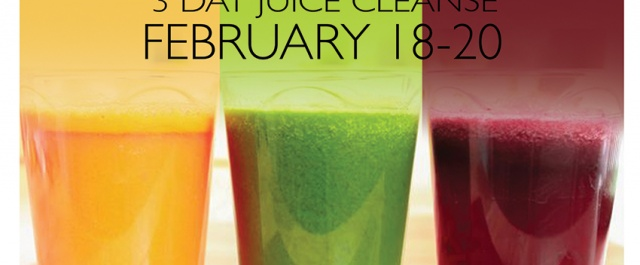 FRESH START: 3 Day Juice and Yoga Cleanse from Feb 18-20th