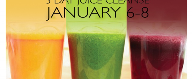 FRESH START: 3 Day Juice and Yoga Cleanse from Jan 6-8th
