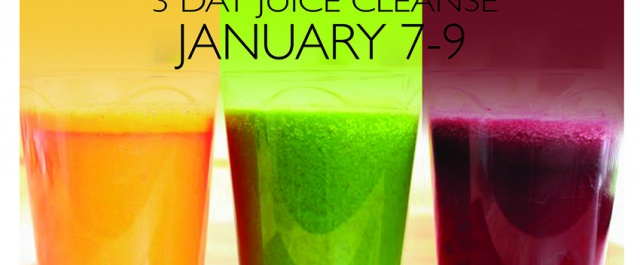 FRESH START: 3 Day Juice and Yoga Cleanse from January 7-9th
